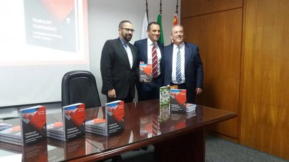 Lançamento do Livro TRABALHO TEMPORÁRIO – Fundamentos Práticos da Lei 6.019/74
